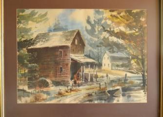 Geroge Urquart watercolor original